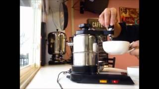 Making Latte with Bellman CX-25 Espresso Machine