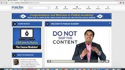 Anik Singal Welcome to Publish Academy