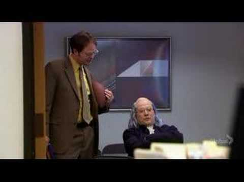 Dwight Schrute Vs Ben Franklin