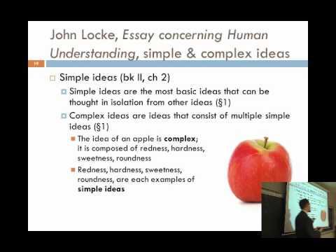 an essay concerning human understanding online text