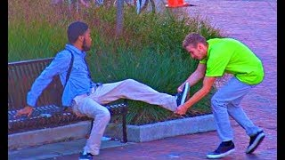 Stealing Peoples Shoes Prank!