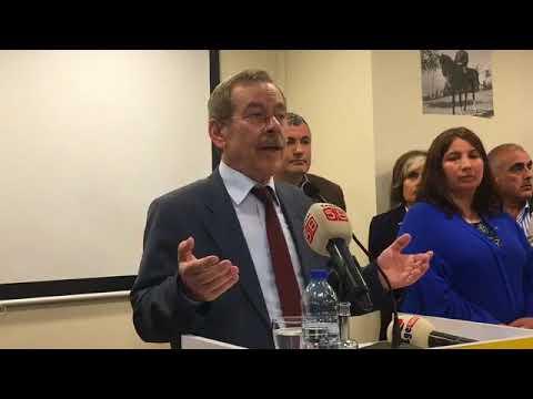 Abdüllatif Şener İyi Parti Şişli Teşkilatında Konuşuyor  14 Nisan 2018