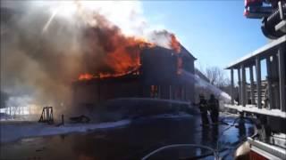 2-18-13 FIRE PLEASANT ST. MECHANIC FALLS