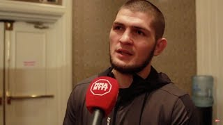 Khabib Nurmagomedov on his weigh issues before UFC 219, criticizes Alvarez vs Gaethje