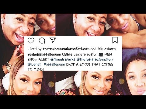 Phaedra Parks Coming Out With A Show With Traci Braxton Natalie Nunn and Luenell