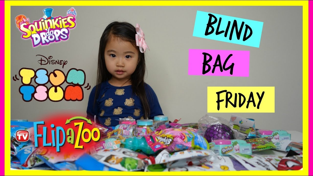 Blind Bag Friday Squinkies Do Drops Tsum Tsum Flip A