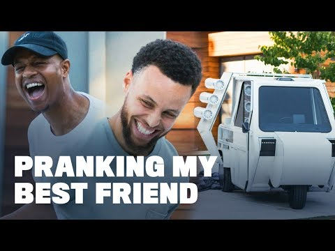 Dreena Gonzalez - So funny! Watch how Steph Curry pranked one of his best friends!