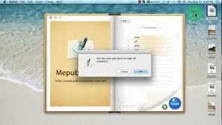 [ePub Creater] كيفية إنشاء الإليكتروني EPUB من صورة الملفات على ماك ؟