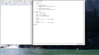 PY 4U 58: A Simple Class Example