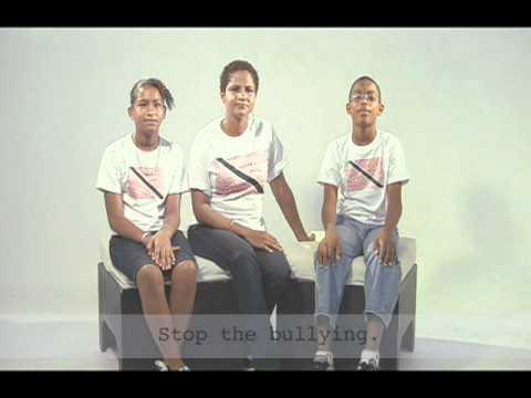 Stop the bullying - Trinidad & Tobago