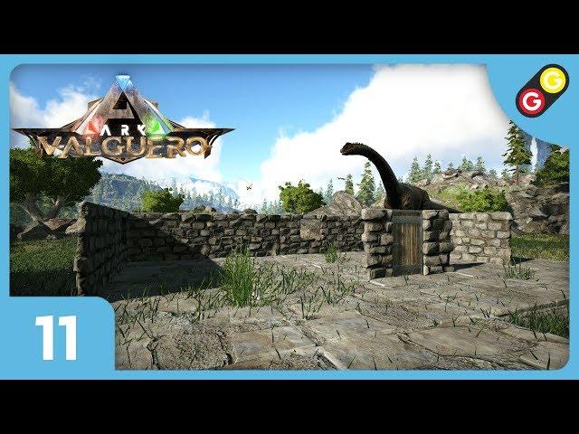 ARK : Survival Evolved - Valguero #11 On construit notre village ! [FR]