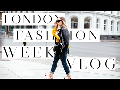 THE LONDON VLOG | WHAT HAPPENED + WHAT I WORE AT LONDON FASHION WEEK | Hello October