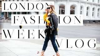 the london vlog   what happened what i wore at london fashion week   hello october