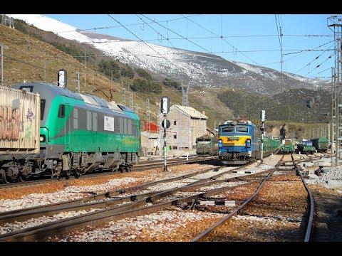 Trenes en Payares 2012 14 (Parte 2) Trains in Pajares pass