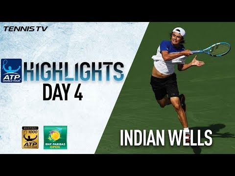 Highlights: Daniel Stuns Djokovic, Federer Advances In Indian Wells 2018