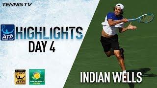 Highlights: Daniel Stuns Djokovic, Federer Advances In Indian Wells 2018
