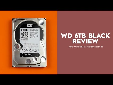 WD Black 6TB Review, After 9 Months - is it worth it?