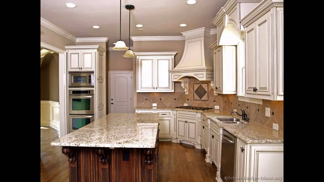 decorating ideas for kitchens with cream cabinets ...