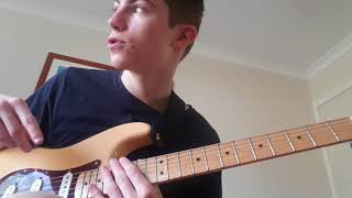 FIRE - KIDS SEE GHOSTS FULL GUITAR TUTORIAL (INCLUDING OUTRO)
