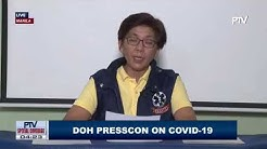 DOH updates on coronavirus Sunday, March 22 (Part 1)