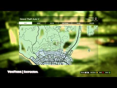 Grand Theft Auto V - Collectibles (Far Out / Spaceship Parts