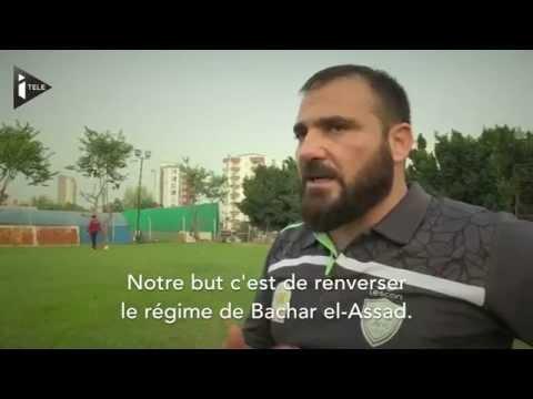 La lente reconstruction de l'équipe syrienne de football