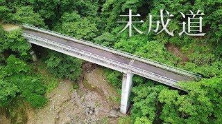 【未成道】宮ヶ瀬湖畔の放棄された橋梁群とトンネル【清川村道土山高畑線】