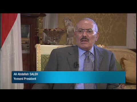 "Interview with former Yemeni president Ali Abdallah Saleh in 2011: ""This is Arab chaos rather"""