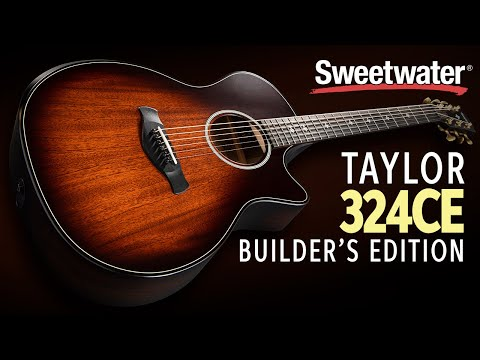 Taylor 324ce Builder's Edition Acoustic-electric Guitar Demo