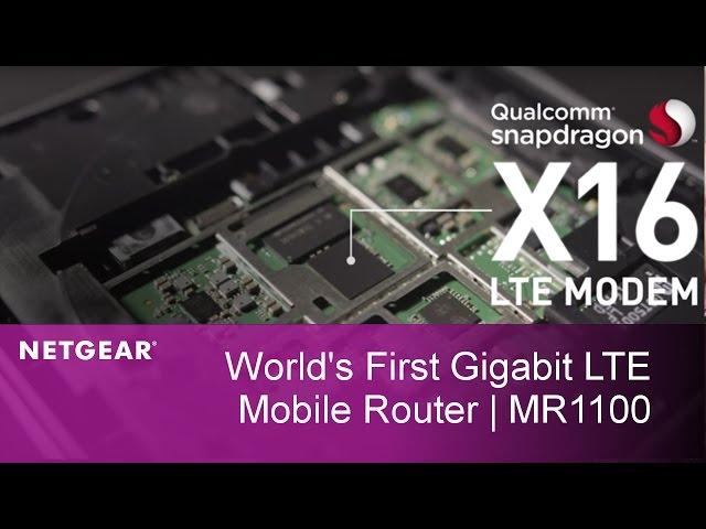 NETGEAR Nighthawk M1 mobile router will bring Gigabit LTE