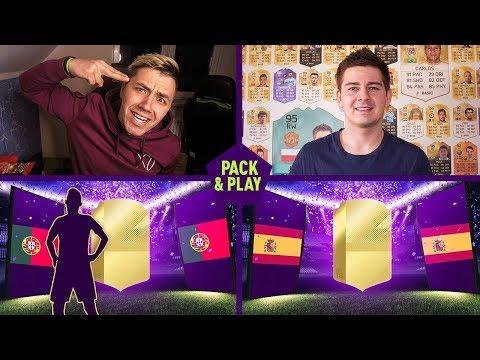 KOLEJNY WALKOUT W PACK & PLAY! (vs. JUNAJTED) FIFA 18 / DEV