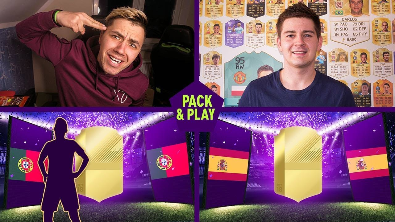 KOLEJNY WALKOUT W PACK & PLAY! (vs. JUNAJTED) FIFA 18 / DEV