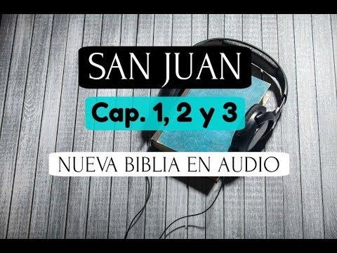 SAN JUAN 1, 2 y 3 BIBLIA EN AUDIO NTV Hablada, Narrada, Leida, Voz Humana Nueva Traducción Viviente