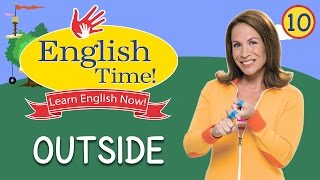 Outside  -  English Time!