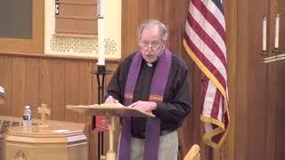 March 29, 2020 St Paul Lutheran Sermon