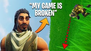 'NOUVEAU' FORTNITE GLITCH?! Mon jeu est SIDEWAYS! | Fortnite FUNNY et CRAZY Moments (#2)