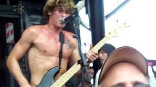 All Time Low - Dear Maria - Warped Tour 2008 Minnesota