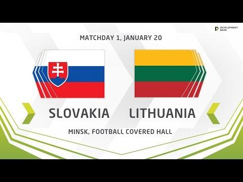 U17. Development Cup - 2019. Slovakia - Lithuania