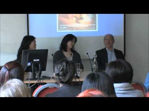 China in Britain #1 Film - Actors Lucy Sheen and David Yip i