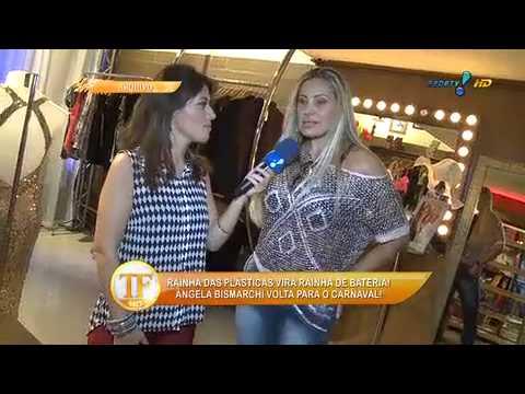 Ângela Bismarchi Promete Nova Plástica Para O Carnaval 2015 - TV Fama 18/09/2014