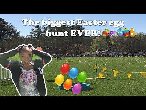 GIANT Easter egg hunt 2018
