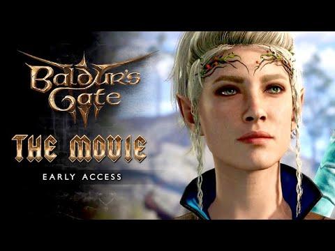 Download Baldur's Gate 3 (Early Access) ★ FULL MOVIE / ALL CUTSCENES 【Viona Lavellan / Half-Elven Wizard】