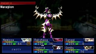 Shin Megami Tensei Devil Summoner Soul Hackers Boss Shemyaza [HARD]
