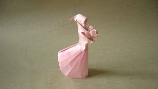 Origami Instructions: Mother and Child (Stephen Weiss)