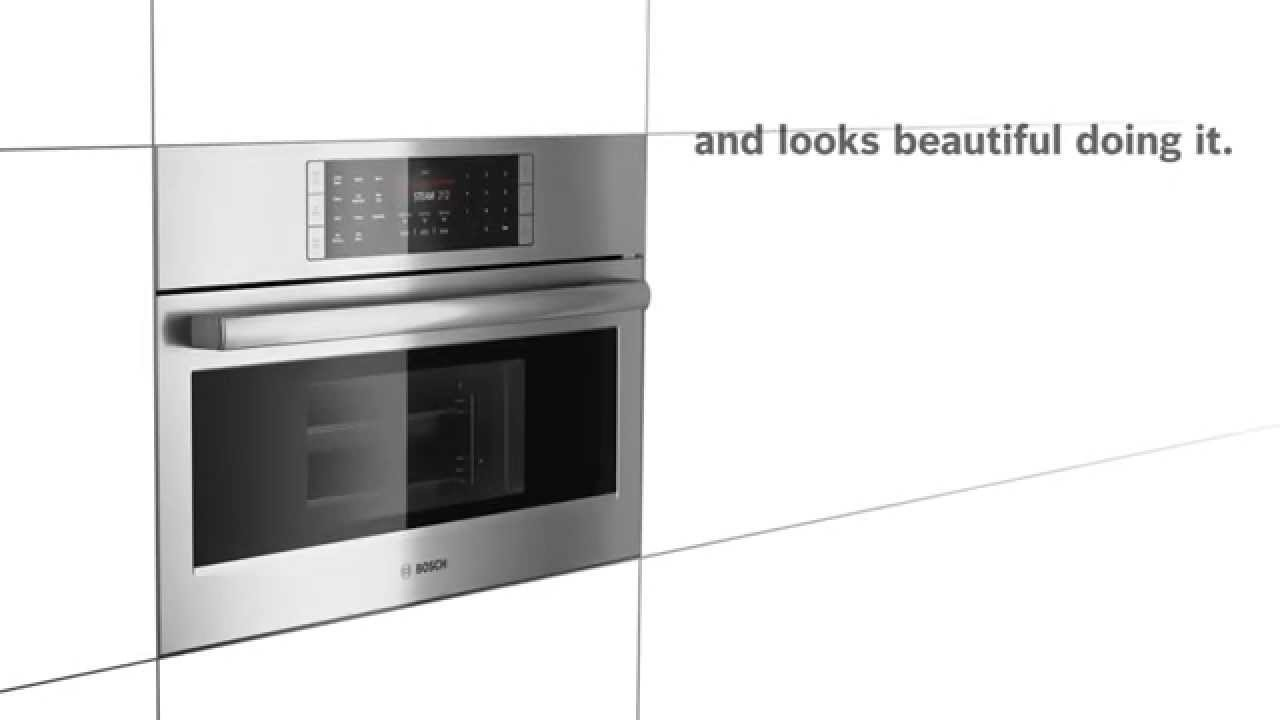 Bosch Benchmark Steam Convection Oven Youtube