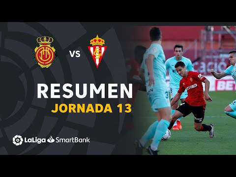 Mallorca Gijon Goals And Highlights