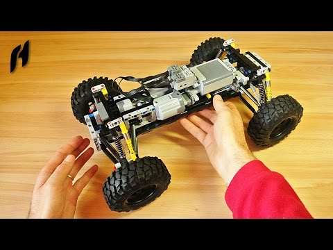 How to Build a Terrain Car Platform (MOC)