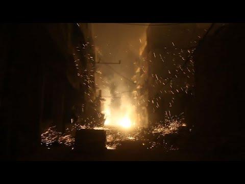 المرصد السوري: قصف روسي بالقنابل الحارقة على الغوطة الشرقية