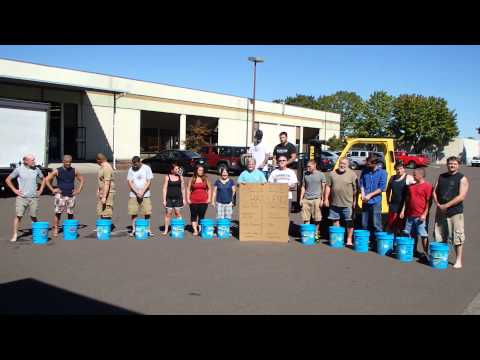 Parks Metal Ice Bucket Challenge