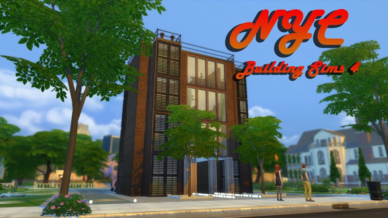 how to make public buildings in sims 4